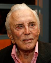 Kirk Douglas at the National Italian American Foundation (NIAF) and American Film Institute.