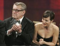 Milos Forman and Parker Posey at the seventh Marrakesh Film Festival.