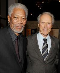 Morgan Freeman and Clint Eastwood at the California premiere of
