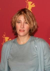 Valeria Bruni-Tedeschi at the 55th annual Berlinale International Film Festival for the photocall of