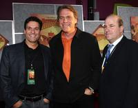 Oren Aviv, Raja Gosnell and Producer John Jacobson at the world premiere of