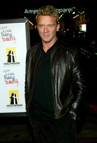 Anthony Michael Hall at the premiere of