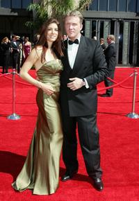 Corinne Saffell and Anthony Michael Hall at the 58th Annual Primetime Emmy Awards.
