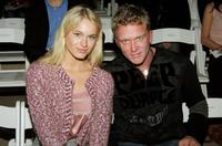 Leven Rambin and Anthony Michael Hall at the Custo Barcelona Spring 2007 Fashion show during the Olympus Fashion Week.