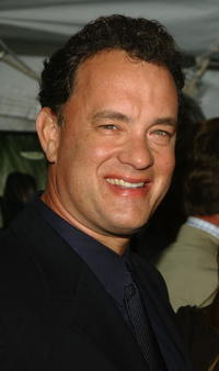 """Tom Hanks at the """"Road To Perdition"""" film premiere in New York City."""