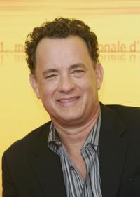 """Tom Hanks at """"The Terminal"""" photocall in Venice, Italy."""