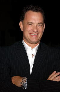 """Tom Hanks at a screening of """"The Nutty Professor"""" in Hollywood."""