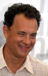 """Tom Hanks at a photocall for the film """"Road to perdition"""" in Venice, Italy."""