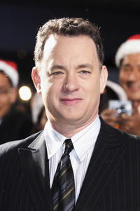 """Tom Hanks at the premiere of """"The Polar Express in Tokyo, Japan."""