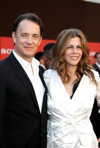 Tom Hanks at the Sony Global Marketing Partners' Conference Closing Celebration.