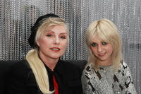 Deborah Harry and Taylor Momsen at the grand opening of the Rock and Roll Hall of Fame ANNEX NYC.