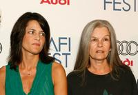 Hathalee Higgs and Genevieve Bujold at the screening of