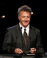 Dustin Hoffman at the first annual UNICEF Snowflake Ball.
