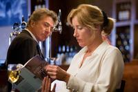 Dustin Hoffman as Harvey Shine and Emma Thompson as Kate Walker in