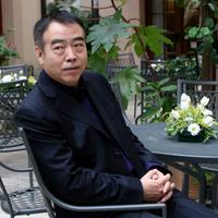 Chen Kaige at the photo session during the Asian Film Festival.