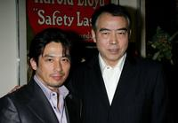 Chen Kaige and Hiroyuki Sanada at the Los Angeles premiere of