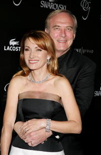 James Keach and Jane Seymour at the 8th Annual Costume Designers Guild Awards.