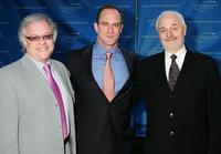 Neal Baer, Christopher Meloni and Ted Kotcheff at the Television Academy Honors in California.