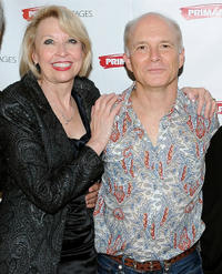 Julie Halston and Dan Butler at the after party of the opening night of