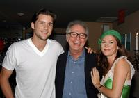 Barry Levinson, Jeff Hephner and Anna Friel at the private screening of