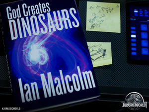 News Briefs: Mysterious 'Jurassic World' Book Photo; 'Lego' Directors Touted for 'The Flash' or 'Ghostbusters'