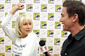 Exclusive Comic-Con Video Interview: Helen Mirren Totes Guns in 'Red'