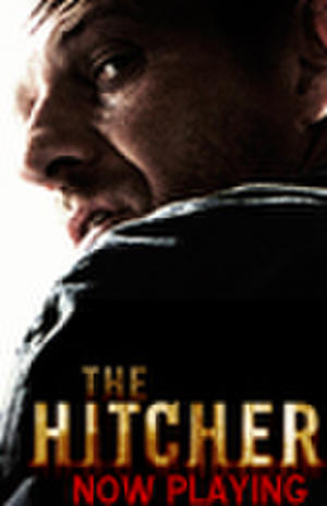 """Poster art for """"The Hitcher."""""""