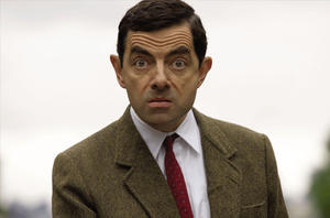 "Mr. Bean (Rowan Atkinson) in ""Mr. Bean's Holiday."""