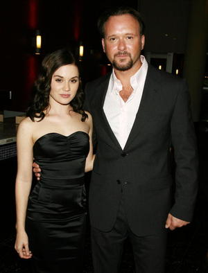 """Alison Lohman and Tim McGraw at the Los Angeles premiere of """"Flicka"""""""