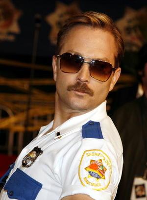 """""""Reno 911!: Miami"""" star Thomas Lennon at the L.A. premiere."""