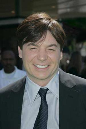 "Actor Mike Meyers at the L.A. premiere of ""Shrek the Third."""