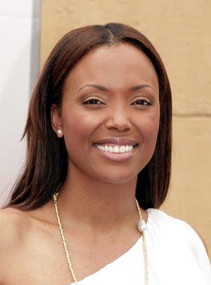 """Actress Aisha Tyler at the L.A. premiere of """"Balls of Fury."""""""