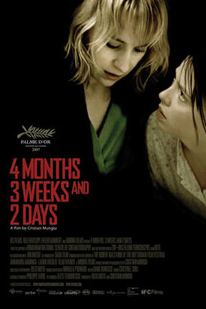 """Poster art for """"4 Months, 3 Weeks and 2 Days."""""""