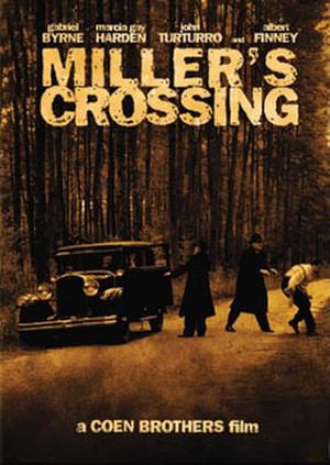 """Poster art for """"Miller's Crossing."""""""