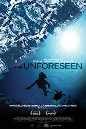"""""""The Unforeseen"""" poster art."""