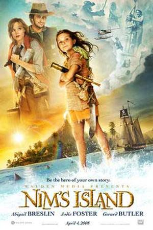 "Poster art for ""Nim's Island."""