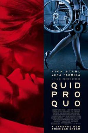 """Poster art for """"Quid Pro Quo."""""""