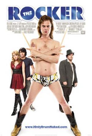 """Poster art for """"The Rocker."""""""