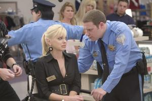 "Anna Faris as Brandi and Seth Rogen as Ronnie in ""Observe and Report."""