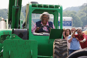 "Tyler Perry as Madea in ""Tyler Perry's Madea Goes to Jail."""