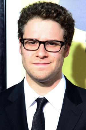 """Seth Rogen at the California premiere of """"Observe And Report."""""""