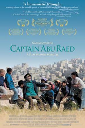 "Poster art for ""Captain Abu Raed."""