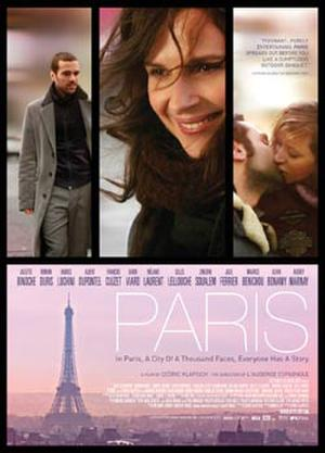 "Poster art for ""Paris."""