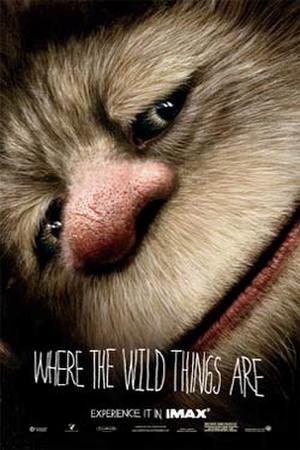 """Poster art for """"Where the Wild Things Are."""""""
