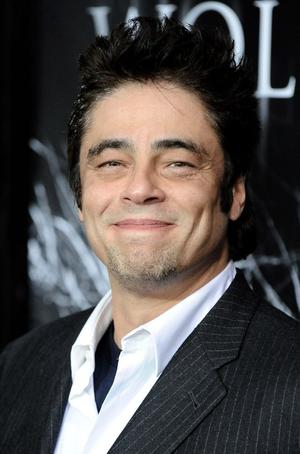 """Benicio Del Toro at the California premiere of """"The Wolfman."""""""