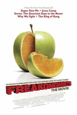 """Poster art for """"Freakonomics."""""""