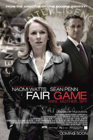 "Poster art for ""Fair Game"""