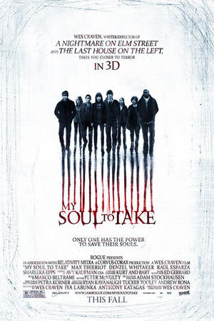 "Poster art for ""My Soul To Take 3D"""