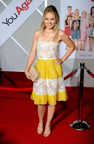 """Kristen Bell at the California premiere of """"You Again."""""""