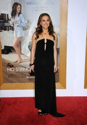 """Natalie Portman at the California premiere of """"No Strings Attached."""""""